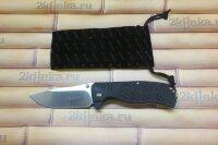 Ganzo (G722-BK) черный складной нож