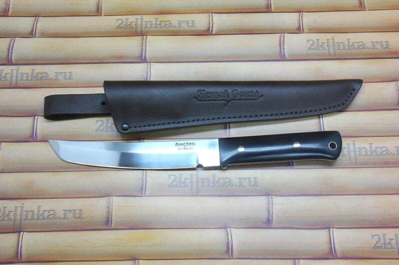 Нож японский городовой н202 ясный сокол россия японский охотничий нож скинер