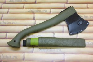 Набор Morakniv Outdoor Kit MG, нож Mora 2000 (Green)+топор (1-2001)