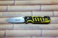 Ganzo G735-YB черно-желтый складной нож